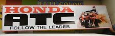 Honda ATC Dealer Promo Banner Three 3 Wheeler 250r 350x 200x ver 2