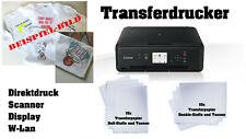 T-Shirt Drucker Fototransfer Tassendruck Transferdruck Tinte Scanner Textil