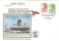 ENTIER REPIQUE AEROPORT INTERCONTINENTAL BALE MULHOUSE 1986