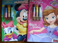 DISNEY COLORING BOOKS MINNIE AND SOFIA THE FIRST