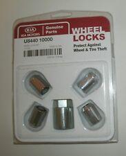 OEM NEW Wheel Locking Lug Nut Kit 2011-2019 Kia Sorento U8440-10000