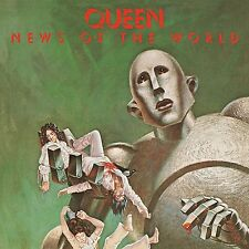 QUEEN - NEWS OF THE WORLD (LIMITED BLACK VINYL)  VINYL LP NEW+