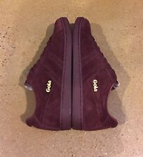 Gola Classics Equipe Suede Burgundy Size 10 US Men's Fashion Skate Sneakers