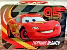 Lightning McQueen Collectible mini lunchbox tin from Disney Pixar