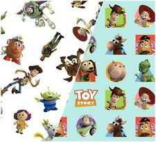 TOY STORY FABRIC 100% COTTON FAT QUARTER HALF METRE OFF THE ROLL  EXTRA WIDE
