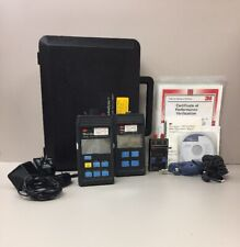 Photodyne / Fluke Fiber Optic Test Equipment Set W/ Light Source, Manuals, Meter