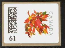 61c RARE 2012 RATE NEW CANADA KIOSK STAMP VARIABLE RATE VENDING COILS