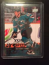 2008-09 08-09 Upper Deck Young Guns Exclusives Brad Staubitz 23/100 Rookie Rc