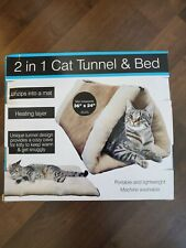 2-in-1 Cat Tunnel and Bed