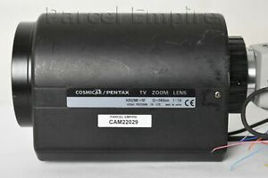 Sony Exwave HAD CCTV Camera + HUGE TV ZOOM LENS 12-240mm COSMICAR / PENTAX Japan