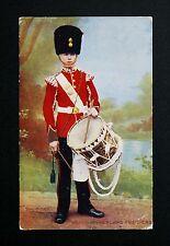 1916 WW1 Postcard Northumberland Fusiliers Drummer Belle Vue Park Sunderland