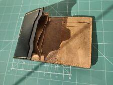Card Holder leather vintage, Slim Pocket Wallet, Sleeve Holder mens, Handmade BG
