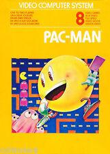 Atari Pacman  Refrigerator / Tool Box Magnet  Man Cave Gift Card Insert