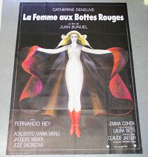 Affiche de cinéma : LA FEMME AUX BOTTES ROUGES de Juan BUNUEL