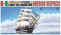 Aoshima 1/350 Scale Sailing Ship Amerigo Vespucci Plastic Model Kit