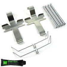 FRONT BRAKE PAD PIN FITTING KIT PINS FITS: SUBARU IMPREZA WRX TURBO BPF1752B2