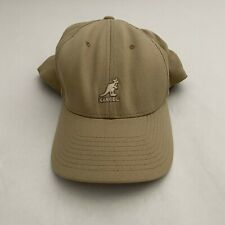 Kangol Kangaroo Wool Flex Fit Baseball Cap Hat Men's Fashion Khaki S/M