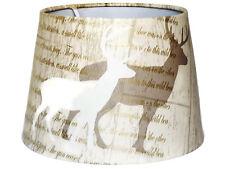 Stag Paralume Lampadario da soffitto Woodland palchi di cervo ALBERI Rustico lampade Regalo