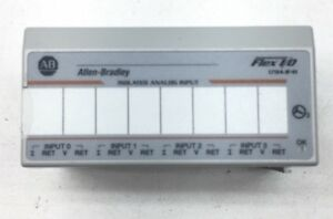 2012 ALLEN BRADLEY 1794-IF4I A FW I Flex 4 Point Analog Input Module