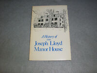 Long Island Book Joseph Lloyd Harbor Manor House Huntington Town History Book