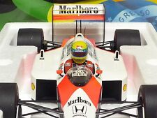 "MINICHAMPS 1:12 McLAREN HONDA MP4-4 A. SENNA WORLD CHAMPION 1988 ""Marlboro"""