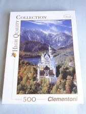 Clementoni Neuschwanstein High Quality Travel Collection 500 Piece Jigsaw Puzzle