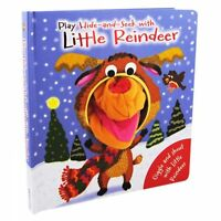 Hand Puppet Reindeer. Story book for interactive reading at Christmas,Igloo Boo