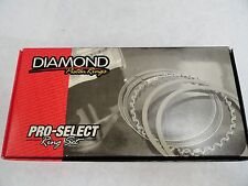 Diamond Pistons Rings #09014185  4.185 Bore-File Fit 1/16, 1/16, 3/16