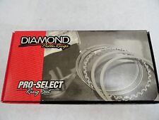 Diamond Pistons Rings #09014185  4.185 Bore-File Fit 1/16, 1/16, 3/16