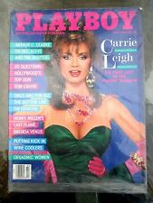 Vintage Playboy magazine July 1986 Carrie Leigh Lynne Austin  NEAR MINT