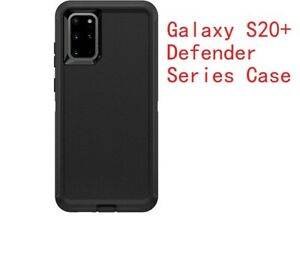 Otter Defender Rugged shockproof Black case for Samsung Galaxy S20+ new box