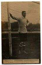 More details for signed football postcard england amateur goalkeeper e. proud real photo 1907