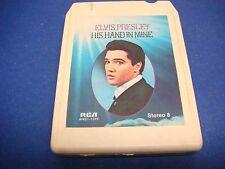 Elvis Presley,8 Track Tape,Tested,His Hand In Mine,If We Never Met Again