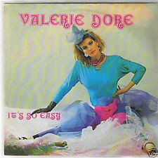 "7"" Valerie Dore It`s So Easy Italo Dance ZYX Records"
