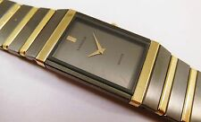 Lassale by Seiko Black & Gold Tone Metal 2F50-0470 Sample Watch NON-WORKING