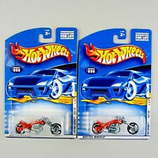 Hot Wheels Blast Lane Motorcycle 2000 First Editions *Pkg Variation Bundle*