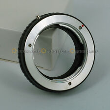 For Minolta MD MC Lens to Nikon DSLR Camera Body Mount Adapter Ring No Glass
