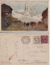 # CRAFFONARA: DINTORNI DEL CERVINO ( PUB. SAPONE SAPOL BERTELLI) 1928