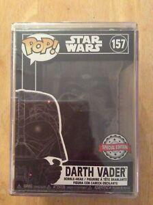 Star Wars Futura Funko Pop #157 Darth Vader Sealed in Pop Stack