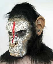 Planet of the Apes mask Dawn Rise Caesar ape chimp monkey costume Bruno Mars