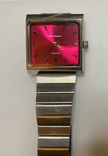Vintage TOKYOBAY RED FACED Watch New Battery NICE!