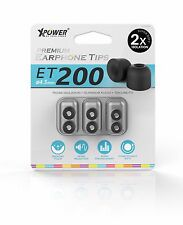 Xpower Premium Memory Foam Earphone ear Tips ET200 for PIONEER Sony SHURE