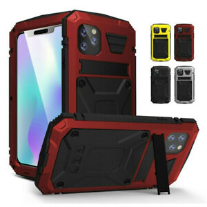 R-JUST Waterproof Dustproof stand Case Cover For iPhone 11 Pro Max XR XS MAX X