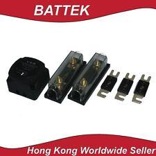 Dual Battery Isolator Dual Sense ANL Fuse Holder Combo Kit 4WD Caravan