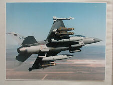 PHOTO PRESSE LOCKHEED MARTIN GENERAL DYNAMICS F-16 US AIR FORCE