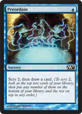 [1x] Preordain - Foil [x1] Core Set 2011 Played, English -BFG- MTG Magic