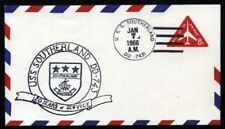 US NAVY COVER USS SOUTHERLAND VERY FINE (ID:261/D26846)
