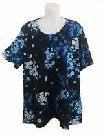 Plus Size Womens Tops Tunic Floral Grace Evans Oversize BNWT