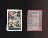 Gary Sheffield 1991 Topps Glow Card Back UV Variant Baseball Card #68 Lot of 5