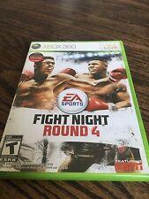 Fight Night Round 4 Xbox 360 Cib Game XG1